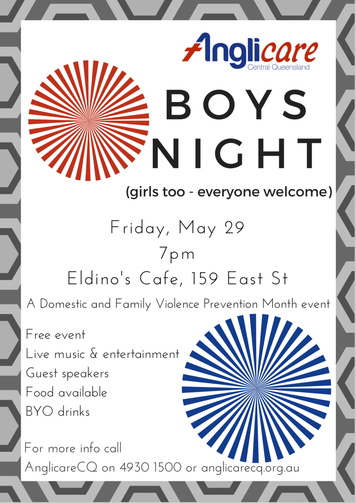 AnglicareCQ boys night may29