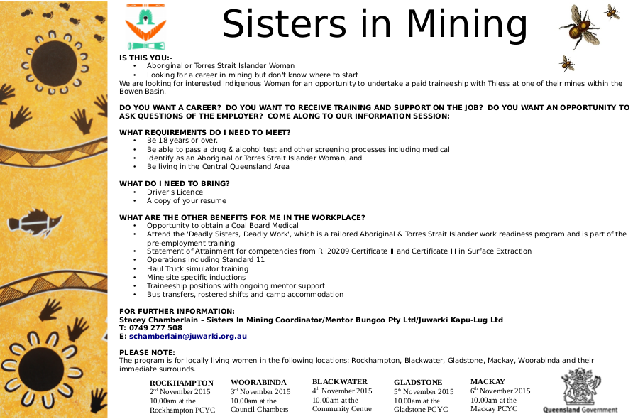 sisters in mining Final