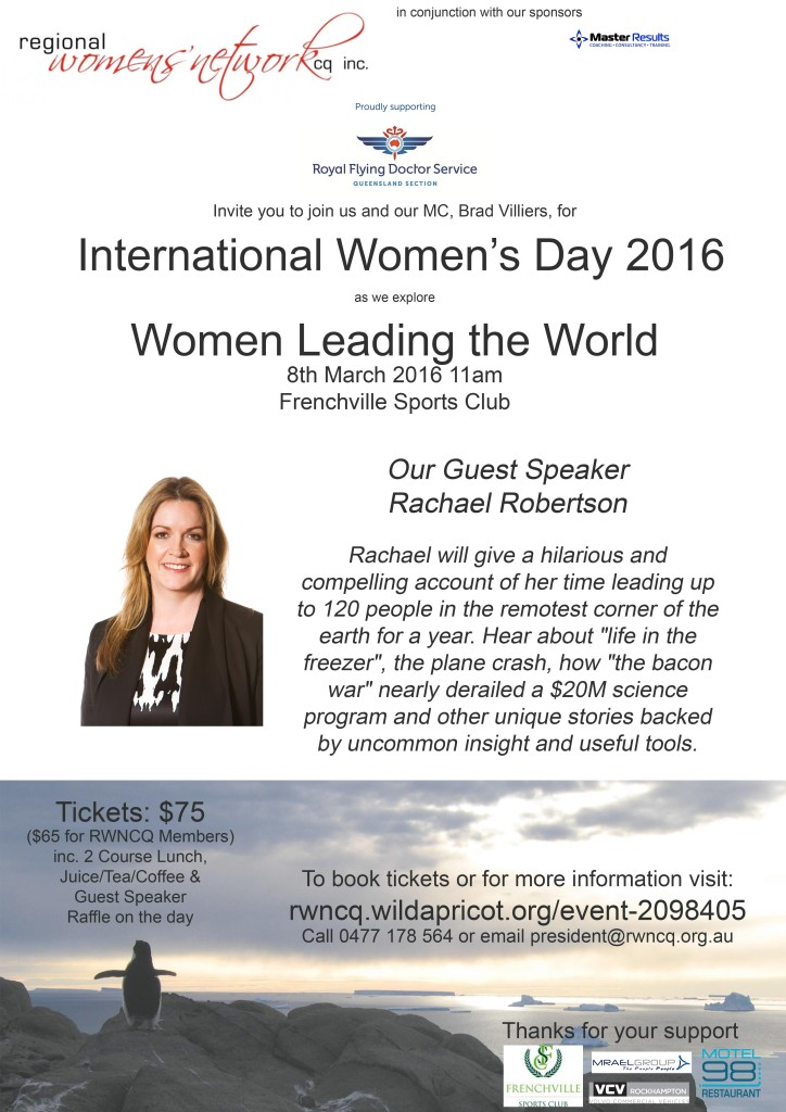 IWD 2016 poster
