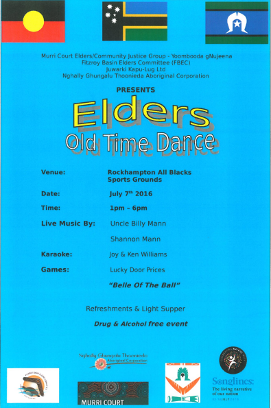 Elders Old Time Dance