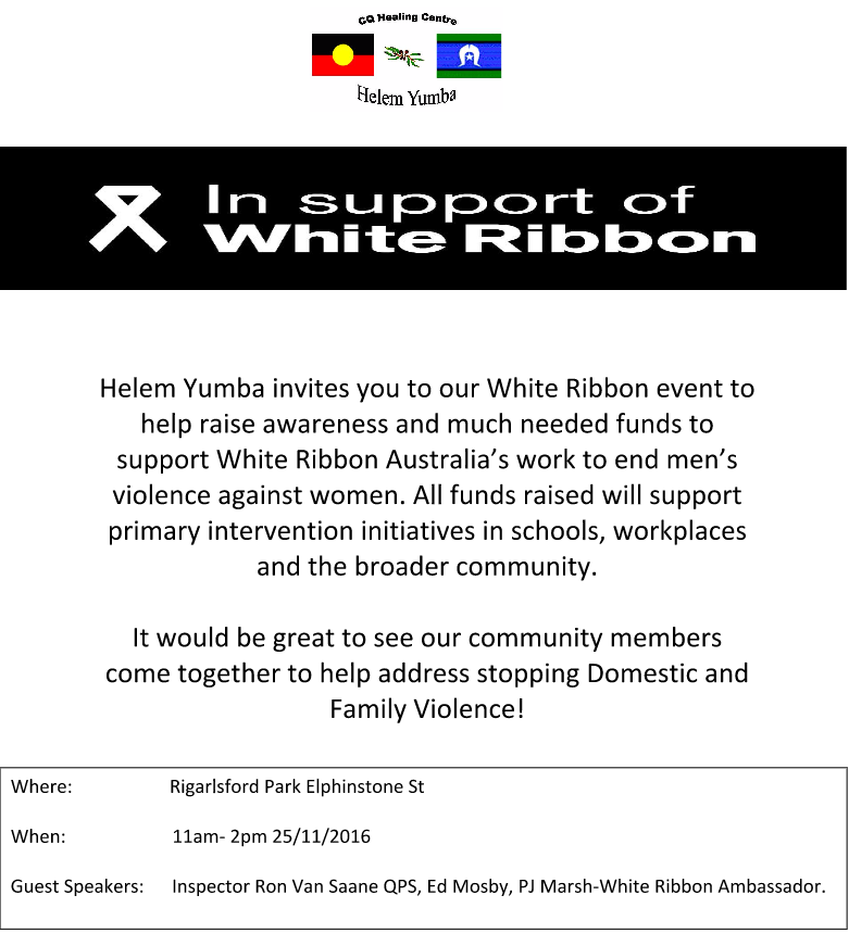 white-ribbon-flyer